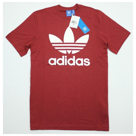 adidas originals t shirt men red
